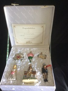 Old World Christmas Wedding Gift Set