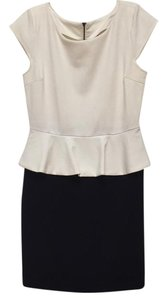 5/48 Peplum And White Office Business Dress