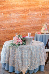Gold Overlay Tablecloths