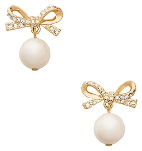 Kate Spade New Skinny Mini Pearl Drop Earrings