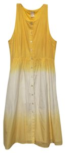 Levi's short dress Yellow Ombre Day Button-up on Tradesy