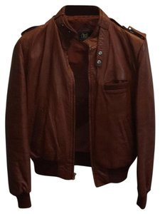 Eros Leather Camel brown Leather Jacket