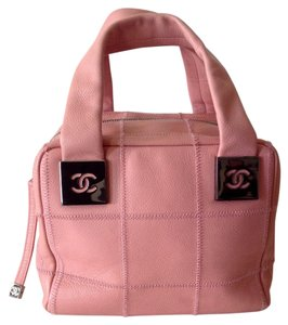 Chanel Pristine Satchel in Pink