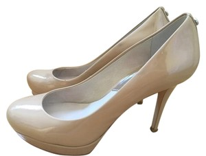 MICHAEL Michael Kors Patent Leather Heels Mk Nude Pumps