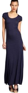 Black navy Maxi Dress by BCBGMAXAZRIA