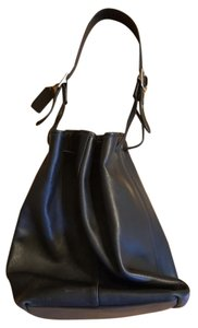 Coach Leather Drawstring Shoulder Bag