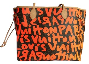 Louis Vuitton Vintage Monogram Tote in orange