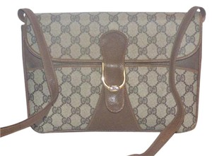 Gucci Equestrian Accents Envelope Style Two-way Style Cross Body Bag