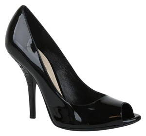 Bottega Veneta Patent Leather Black Pumps
