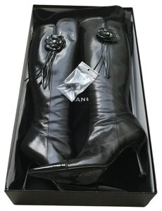 Chanel Limited Edition Black Boots
