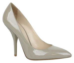 Bottega Veneta Patent Leather Sand Beige Pumps