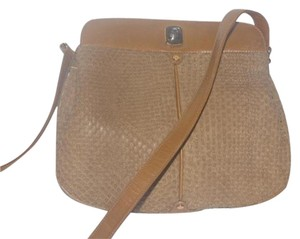 Gucci Shades Of Brown Multiple Compartment Rare Early Mint Vintage Two-tone Accents Hobo Bag