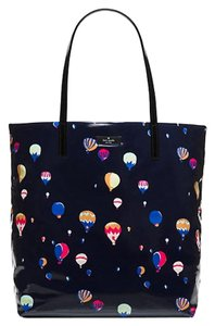 Kate Spade New With Tags Tote in Navy Blue Multi-color