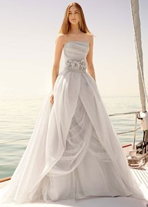 White By Vera Wang Vw351178 Wedding Dress