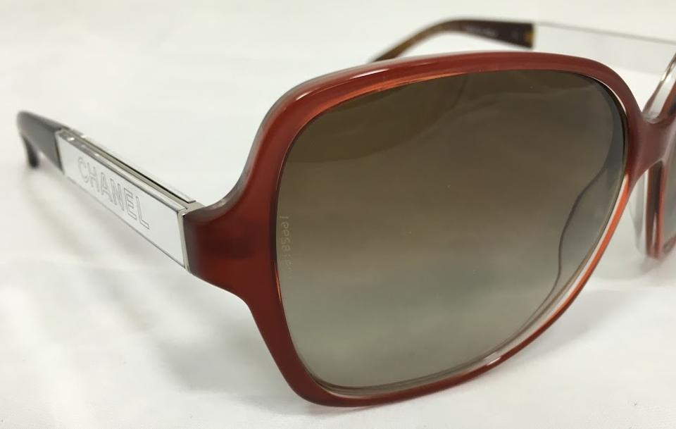 1c10df1dcd Chanel Red And Torotise Collection Miroir 5168 C.1186 3b 59 Sunglasses -  Tradesy