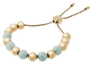 Michael Kors Michael Kors MKJ5222710 Green/Blue Gold Beaded Stretch Bracelet