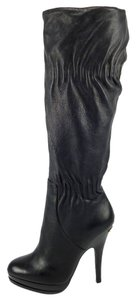 Michael Kors Boot Leather Black Boots