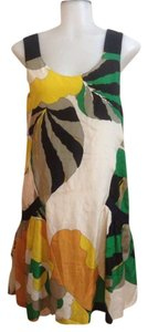 Tibi short dress Multi Silk Floral Tropical on Tradesy