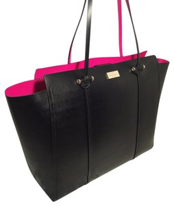 Kate Spade Tote in Black/sweetheart