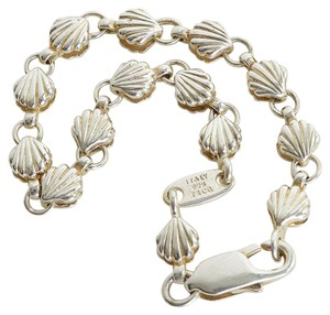 Tiffany & Co. RDC7291 Tiffany & Co. Sterling Silver Chain of Shells Bracelet