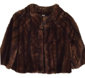 Banana Republic Fur Coat