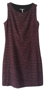 Laundry by Shelli Segal Tweed Day-to-night Day To Night Career Plaid Dress