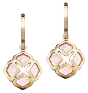 Chopard Chopard Imperiale Cutout Pink Quartz Earrings
