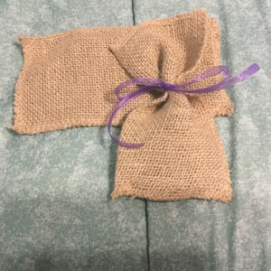 Burlap Set Of 99 - Small Favor/candy Bags - Never Used