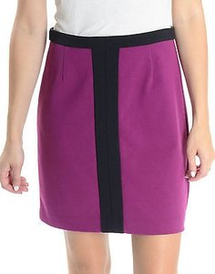 Laundry by Shelli Segal Straight Pencil Skirt Purple