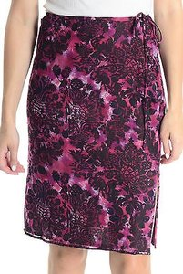 Laundry by Shelli Segal Straight Pencil Skirt Pink