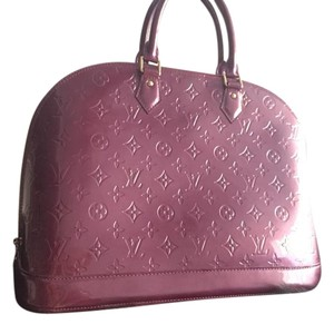 Louis Vuitton Satchel in Rouge Fauviste / purple