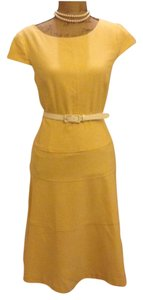 Anne Klein short dress Yellow on Tradesy