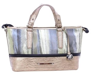 Brahmin Cross Body Asher Tote in Gray