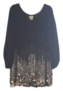Karen Millen short dress Black and Gold on Tradesy
