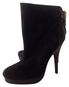 MICHAEL Michael Kors Suede Leather Accents black Boots