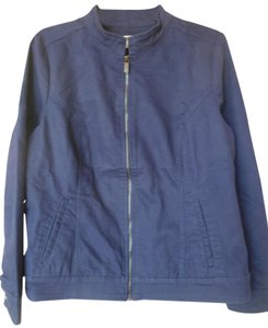 Liz Claiborne navy blue Womens Jean Jacket