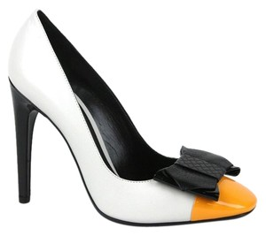 Bottega Veneta Patent Leather Bow 352588 Multi-Color Pumps