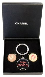 Chanel Chanel CC coco Signature Limited Edition Key Chain with Box Super Rare