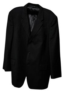 Studio M * Studio Milano Black Pinstripe Suit for MEN