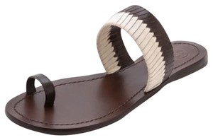 Tory Burch Dark Brown Sandals