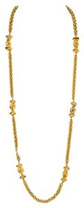 Chanel Chanel Vintage Goldtone Necklace with Spacers