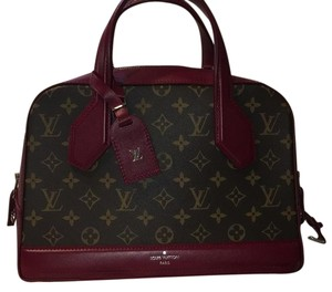 Louis Vuitton Satchel in Bordeaux/Monogram