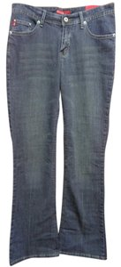 South Pole Collection Dark Wash Boot Cut Jeans-Dark Rinse