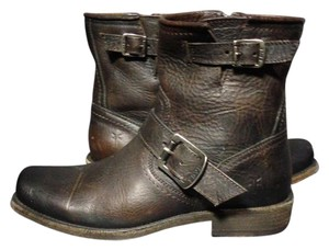 Frye Size 6 Motorcycle 6 Size 6 Brown Boots