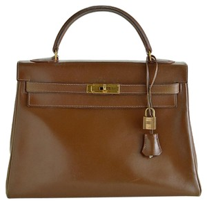Hermès Kelly Satchel in brown