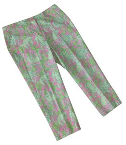 Lilly Pulitzer Great Look Capris PINKS, GREENS