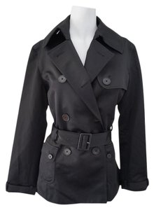 Ralph Lauren Trench Satin Coat