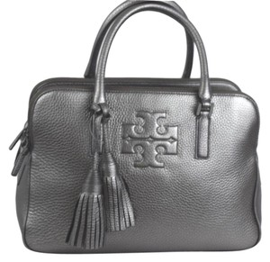 Tory Burch Thea Satchel in Silver