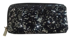 Mossimo Supply Co. Mossimo(R) Large Sequin Zip Around Wallet - Black