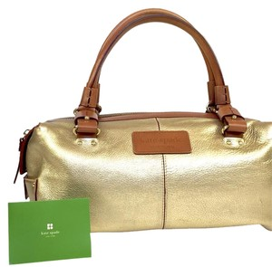 Kate Spade Satchel in Gold/toffee